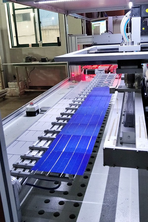 لوحة أحادية البلورية الشمسية 100W
