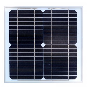 Painel de mono-cristalino 10W Solar