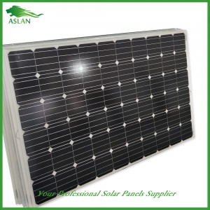 لوحة أحادية البلورية الشمسية 250W