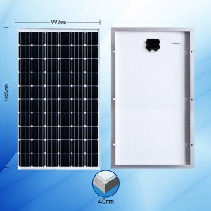 Mono-krystallinsk 250W Solar Panel