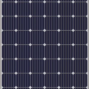 Mono-Kristal 300W Güneş Paneli