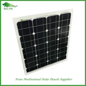 단결정 50W 태양 광 패널