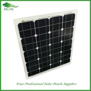Monokristalline 50W Solar-Panel