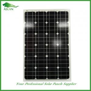 단결정 60W 태양 광 패널