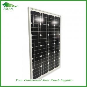لوحة أحادية البلورية 80W الطاقة الشمسية