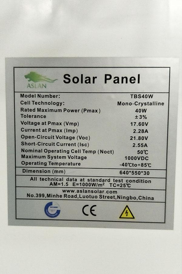 Poly-crystalline Solar Panel 3W