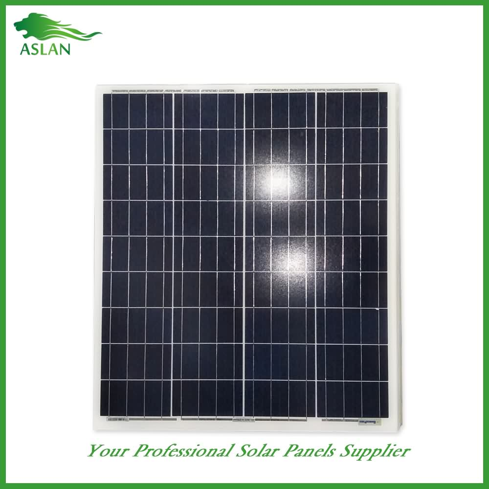 Poly-krystallinsk Solar Panel 60W Featured Billede
